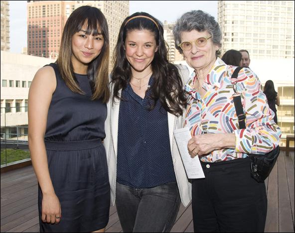 Greta Lee, Zoe Winters and Mary Louise Wilson
