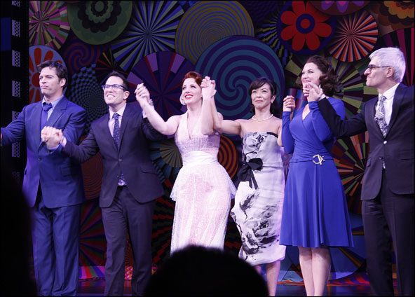 Harry Connick, Jr., Michael Mayer, Jessie Mueller, JoAnn M. Hunter, Kerry O'Malley and Peter Parnell