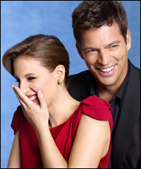 Jessie Mueller and Harry Connick Jr.