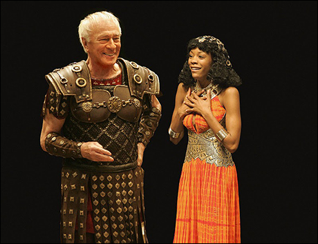 James took a classical turn in Caesar and Cleopatra opposite Christopher Plummer at the Stratford Festival, 2008