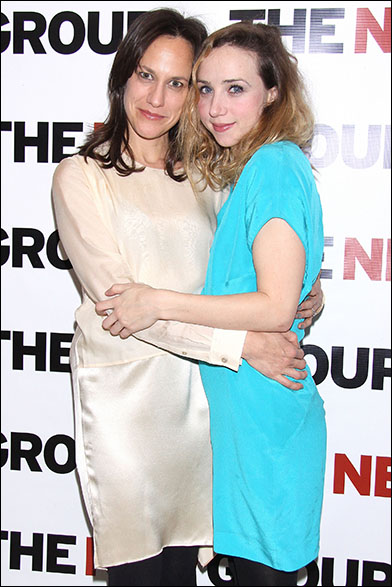 Stephanie Janssen and Zoe Kazan