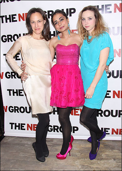 Stephanie Janssen, Mahira Kakkar and Zoe Kazan