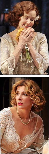 From Top: Jessica Lange in <I>The Glass Menagerie</I> and Natasha Richardson in <i>A Streetcar Named Desire</i>
