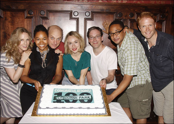 Christina Kirk, Crystal A. Dickinson, Frank Wood, Sarah Goldberg, Jeremy Shamos, Damon Gupton and Brendan Griffin