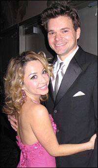 Jennifer Cody and Hunter Foster