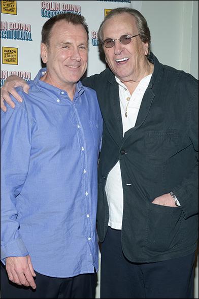 Colin Quinn and Danny Aiello
