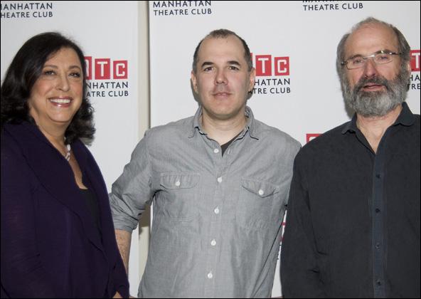 Lynne Meadow, David Auburn and Daniel Sullivan