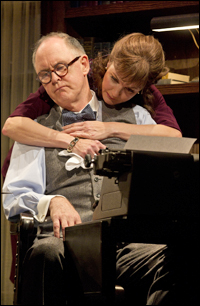 John Lithgow and Margaret Colin