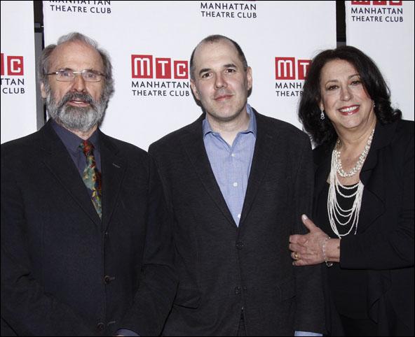 Daniel Sullivan, David Auburn and Lynne Meadow