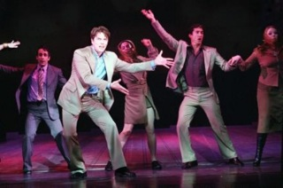 John Barrowman and cast in the 2002 Kennedy Center production.