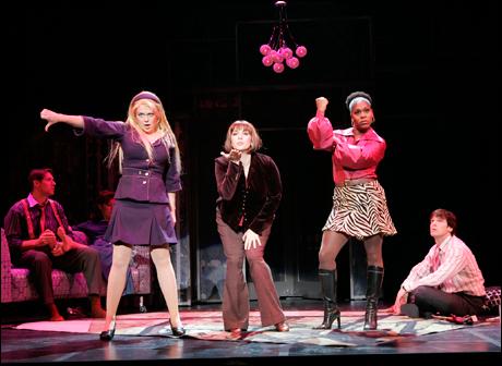 Billie Wildrick, Anna Lauris and Lisa Estridge at Seattle's 5th Avenue Theatre, 2006.