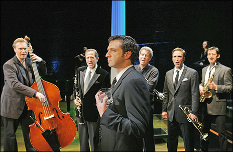 Raul Esparza and cast