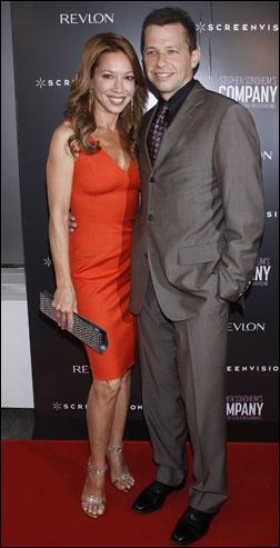 Lisa Joyner and Jon Cryer