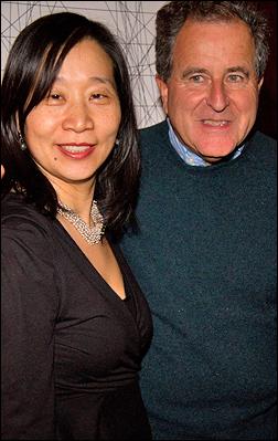 Diana Son and Nick Kent