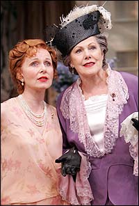 From Left: Kate Burton and Lynn Redgrave in <I>The Constant Wife</I>