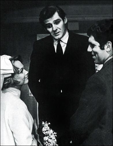 Barbara Cook, Richard Schaal and Elliott Gould in Little Murders