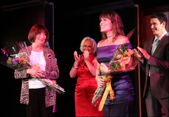 Lynne Taylor-Corbett, Babs Winn, Donna Moore and Andrew Brewer