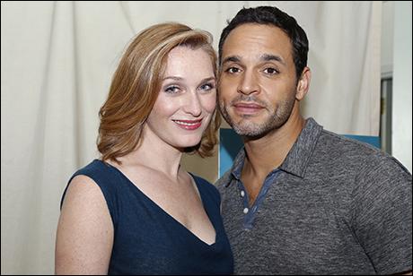 Kate Jennings Grant and Daniel Sunjata