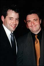 From Left: Matthew Broderick and Nathan Lane