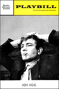Playbill Cover for <I>Joe Egg</i> in 1968.