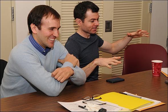 Andy Sandberg and Greg Edwards