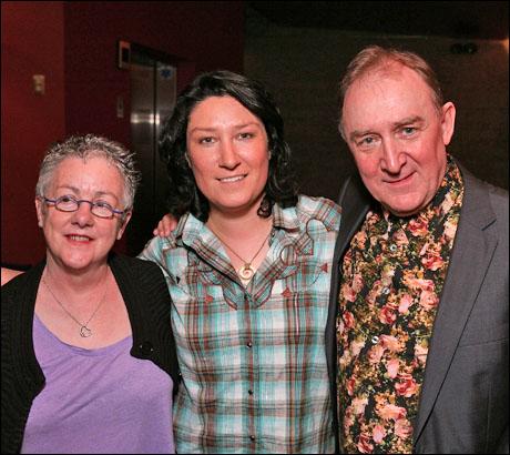 Garry Hynes, Sarah Lynch and Dermot Crowley