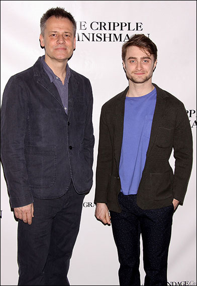Michael Grandage and Daniel Radcliffe