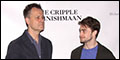 Daniel Radcliffe and the Cast of Martin McDonagh's The Cripple of Inishmaan Meet the Press