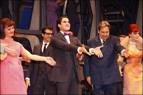 Darren Criss and cast
