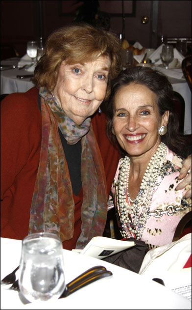 Anne Meara and Andrea Marcovicci