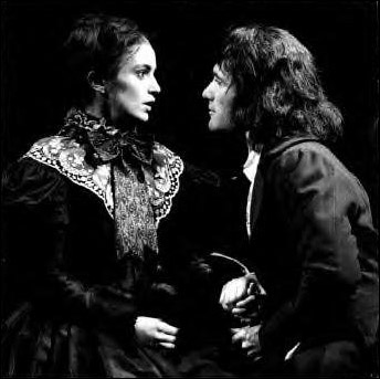 Marla Schaffel and Anthony Crivello in the original Canadian cast of Jane Eyre
