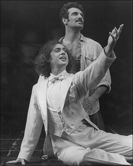 Jeff Hyslop and Anthony Crivello in  Kiss of the Spider Woman