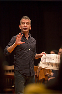 Director David Cromer in <i>Our Town</i>