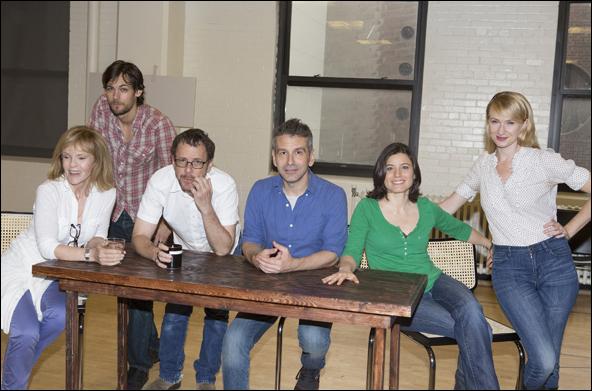 Deborah Rush, Robert Beitzel, Ethan Coen, David Cromer, Susan Pourfar and Halley Feiffer
