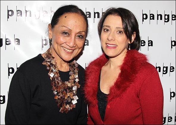 Ching Valdes-Aran and Judy Kuhn