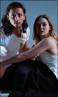 Julian Cihi and Elizabeth Olsen