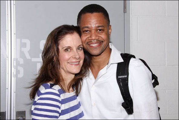 Hallie Foote and Cuba Gooding, Jr