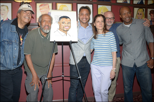Charles Turner, Arthur French, Cuba Gooding, Jr., Hallie Foote, Michael Wilson and Leon Addison Brown