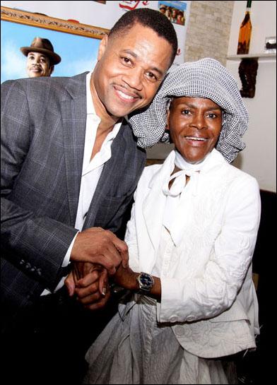 Cuba Gooding, Jr. and Cicely Tyson