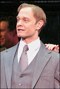 David Hyde Pierce in the Broadway production of <I>Curtains</I>.