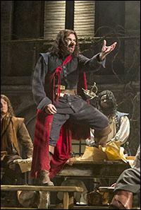 Douglas Hodge in <i>Cyrano de Bergerac</i>.