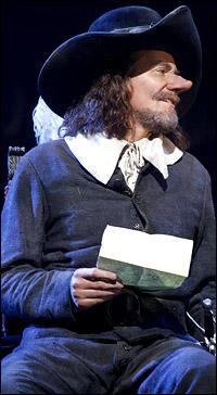 Kevin Kline is <i>Cyrano de Bergerac</i>.