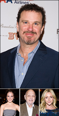Douglas Hodge; guests Laura Osnes, Charles Strouse and Jane Krakowski