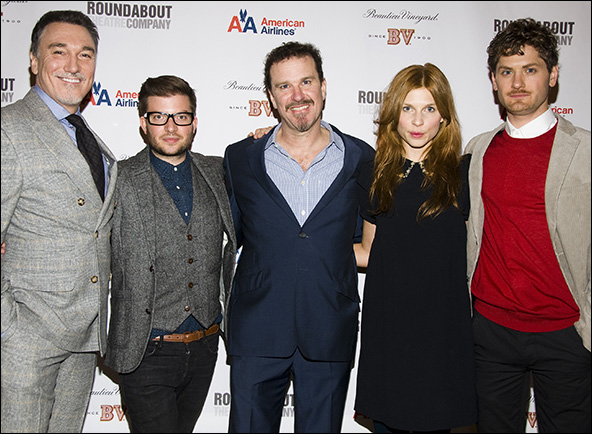 Patrick Page, Jamie Lloyd, Douglas Hodge, Clemence Poesy and Kyle Soller