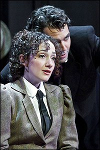 Megan McGinnis and Robert Adelman Hancock in the 2009-10 run of <i>Daddy Long Legs</i>.