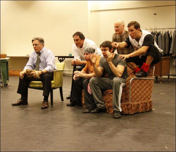 Joseph Kolinski and cast