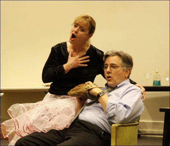 Patti Cohenour and Joseph Kolinski