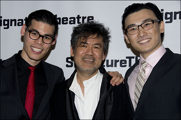 Ruy Iskandar, David Henry Hwang and Yuekun Wu