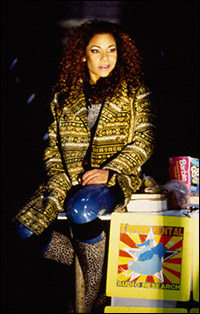 Daphne Rubin-Vega in <i>Rent</i>