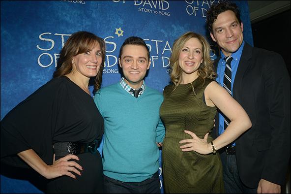 Janet Metz, Alan Schmuckler, Donna Vivino and Aaron Serotsky